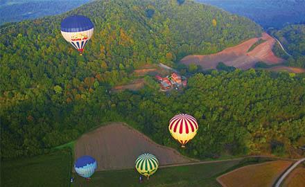 Evadez-vous en montgolfière en Catalogne
