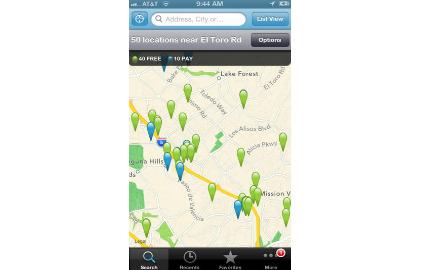 L'application Wi-Fi Finder