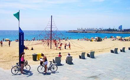 La Plage de Nova Icària à Barcelone