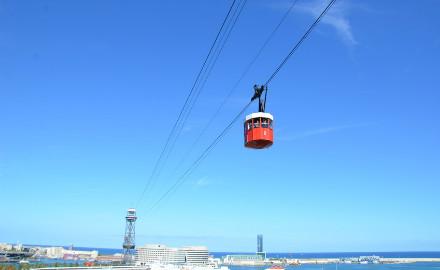 Téléphérique du port de Barcelone