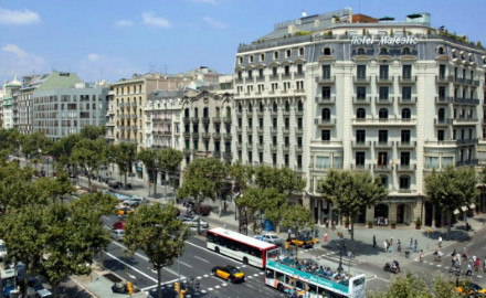 Avenue passeig de Gràcia