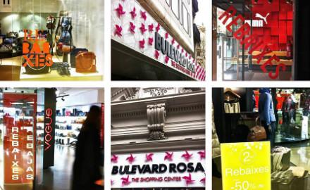Centro comercial el Bulevard Rosa