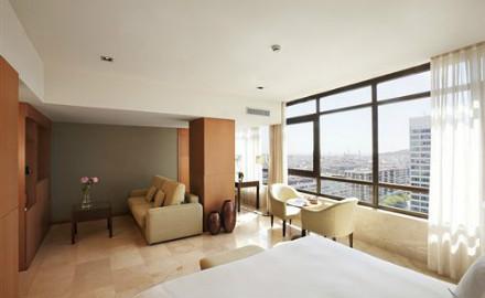 Une chambre à l'hôtel Catalunya