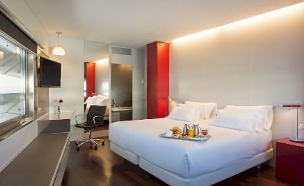 Une chambre à l'hôtel Constanza