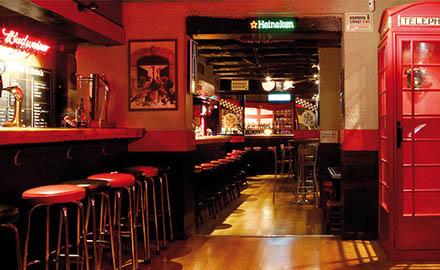 Le Black Lion, english pub à Barcelone