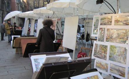 Mercadillo de la Plaça de Sant Josep
