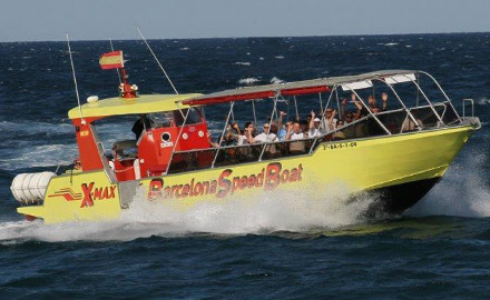 X-max Barcelona Speed Boat