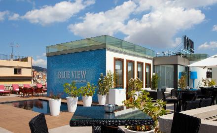 Quartier l 39 eixample barcelone destination barcelone - Hotel casa fuster terraza ...