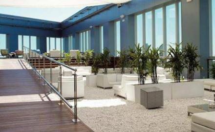 Terrasse du Novotel