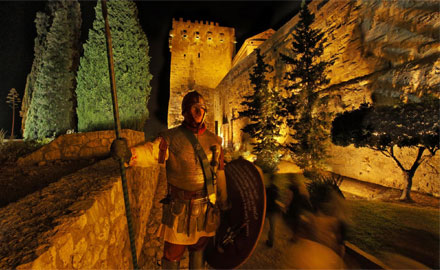 Garde médiéval - Reconstitution Tarragona