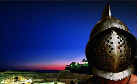 Casque de gladiateur - Reconstitution Tarragona