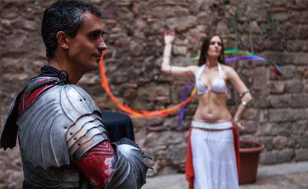 Medieval show au palais Requesens 2
