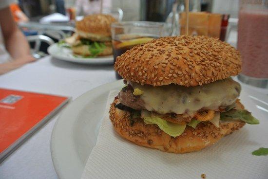 Le burger exquis