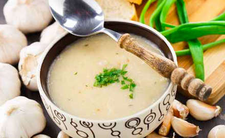 soupa de ajo