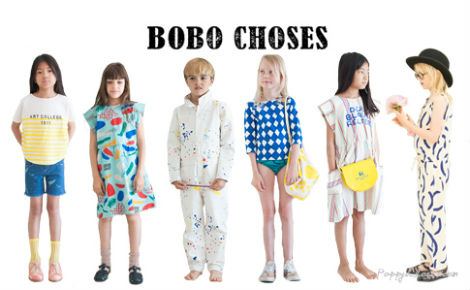 collection pour enfants bobo choses