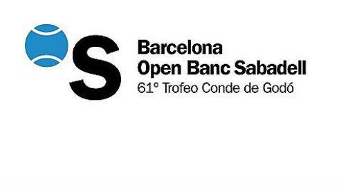 logo open banc sabadell de tennis a barcelone